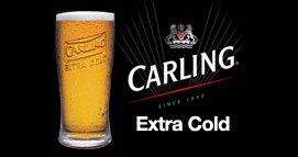 CARLING EXTRA COLD